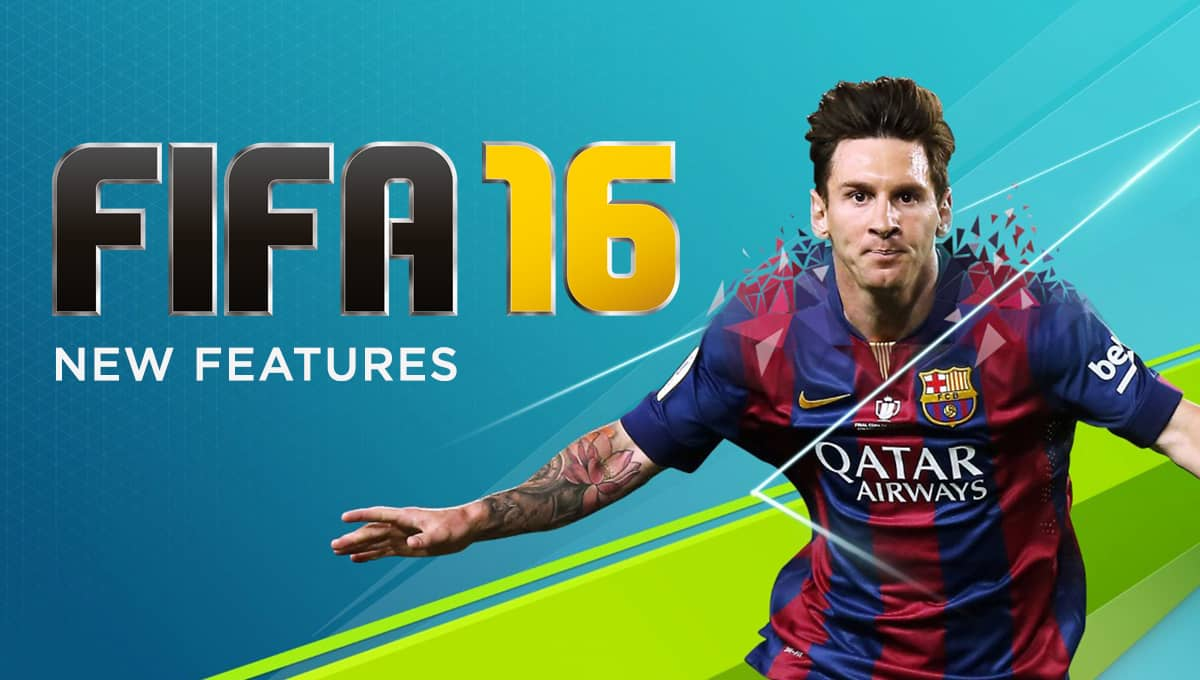 New things in the FIFA 16 game